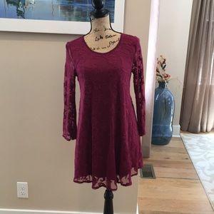 Forever 21 Long Sleeved Dress